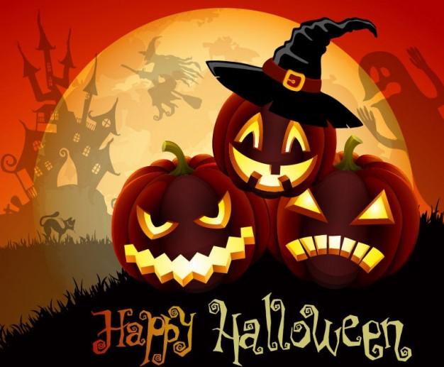 Halloween với những trái bí ngô kỳ bí, huyền ảo - Ảnh 10