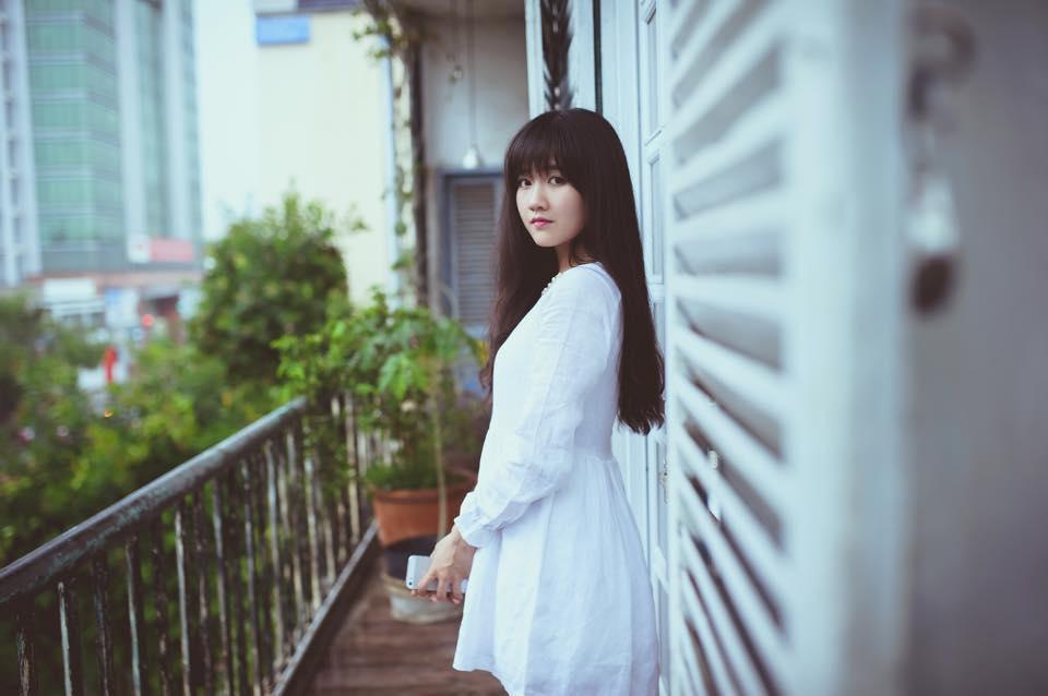 """Halloween 2014: Hot girl Kiều Trinh hóa """"ma nữ"""" xinh đẹp - Ảnh 1"""