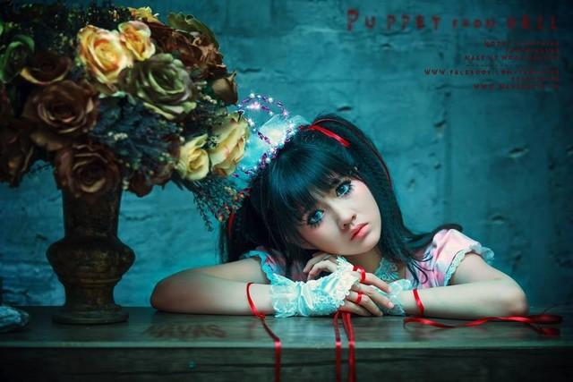 """Halloween 2014: Hot girl Kiều Trinh hóa """"ma nữ"""" xinh đẹp - Ảnh 9"""