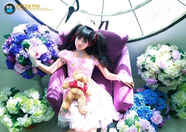 """Halloween 2014: Hot girl Kiều Trinh hóa """"ma nữ"""" xinh đẹp - Ảnh 8"""