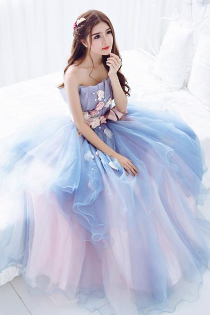 Ngắm bộ ảnh búp bê Việt Lily Luta mặc váy cô dâu đẹp long lanh - Ảnh 2