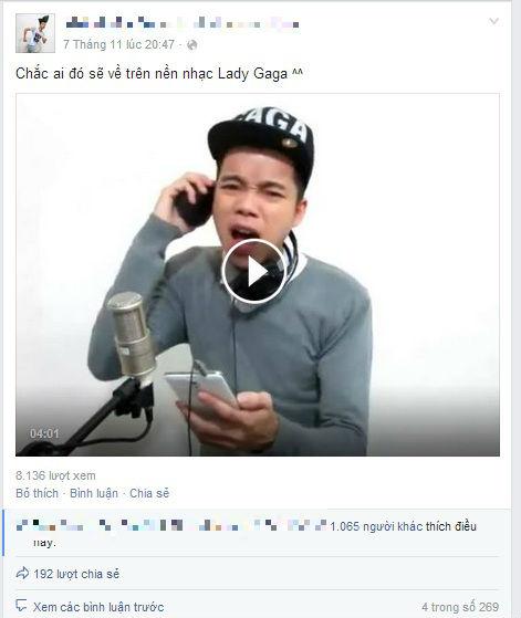 """Hot boy cover """"Chắc ai đó sẽ về"""" trên nền nhạc Lady Gaga gây sốt - Ảnh 4"""