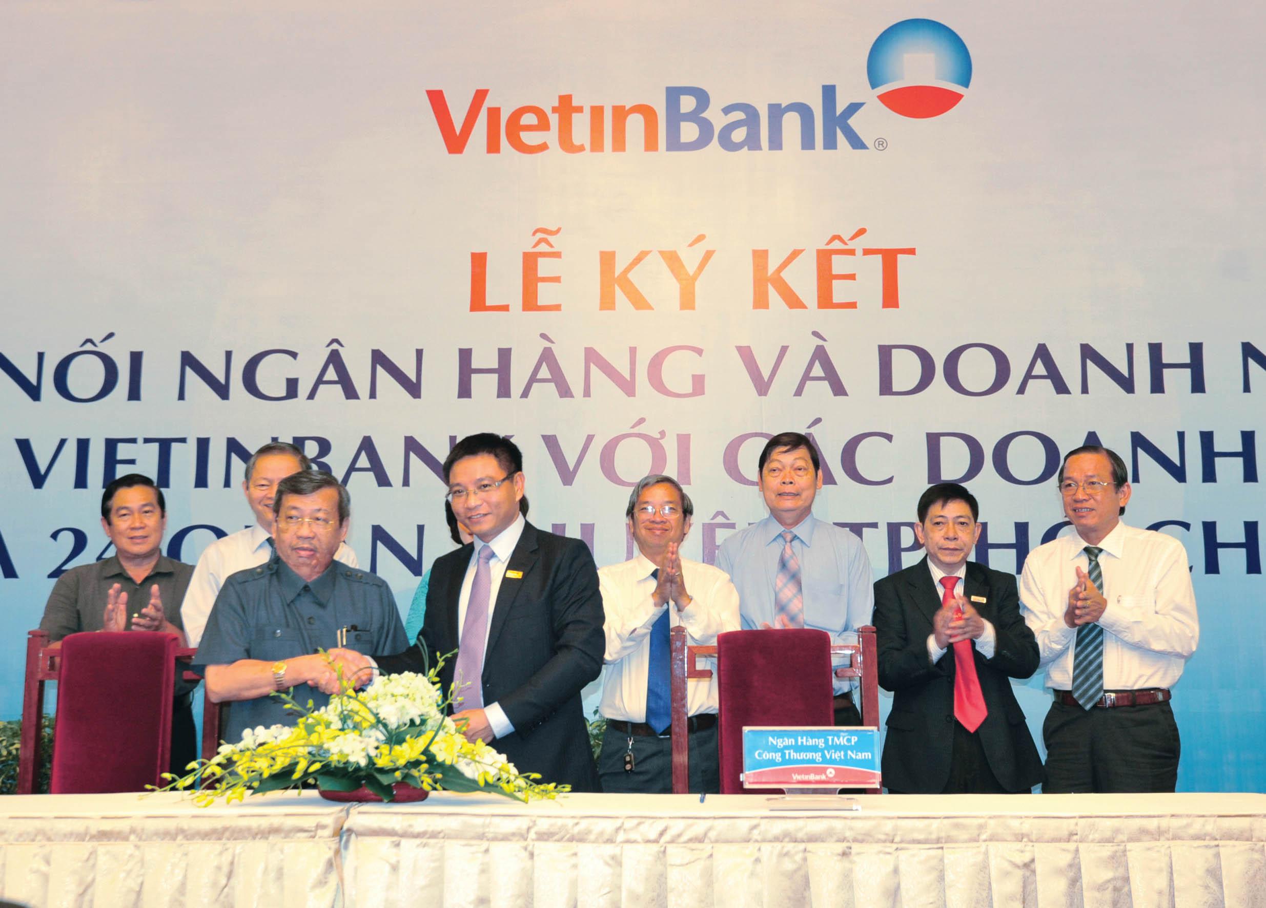 9 tháng 2014, tín dụng VietinBank tăng trưởng 7% - Ảnh 1
