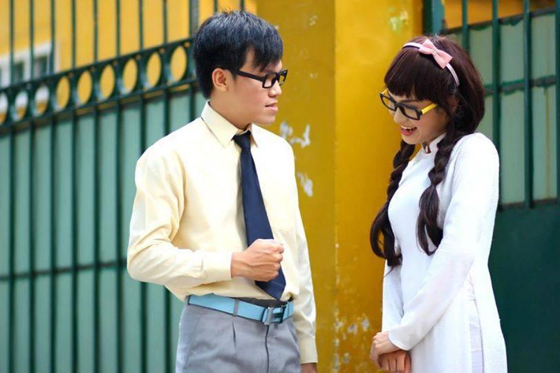 """Chàng trai 9X giả gái dễ thương trong bộ ảnh """"về thăm trường xưa"""" - Ảnh 3"""