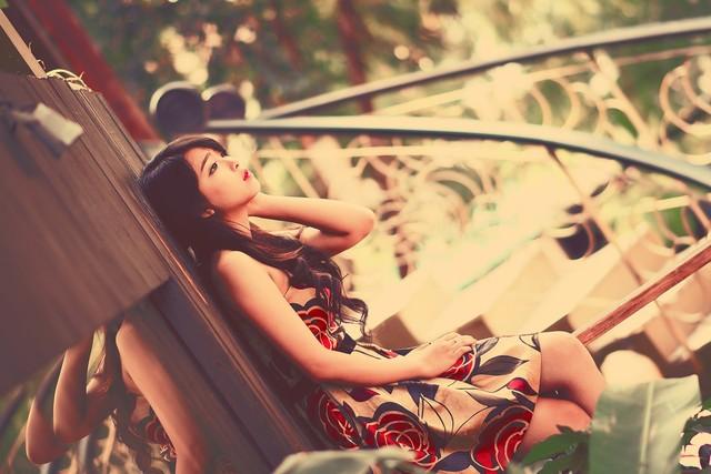 """Bộ ảnh """"Valentine cô đơn"""" của hotgirl Nha Trang gây sốt - Ảnh 5"""