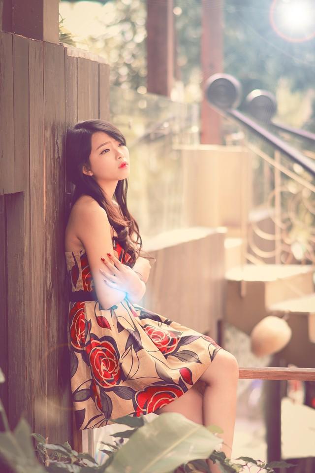 """Bộ ảnh """"Valentine cô đơn"""" của hotgirl Nha Trang gây sốt - Ảnh 6"""