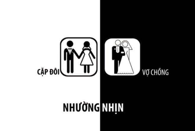 Clip hài: Sự khác biệt giữa cặp đôi và vợ chồng ngày Valentine  - Ảnh 2