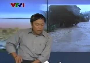 Xôn xao clip phóng viên VTV ném điện thoại trên sóng trực tiếp  - Ảnh 2