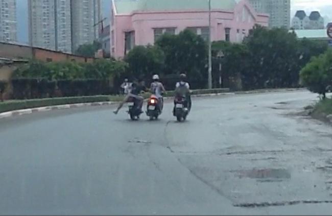 Cảnh giác thủ đoạn cướp xe trắng trợn mới tại TPHCM - Ảnh 1