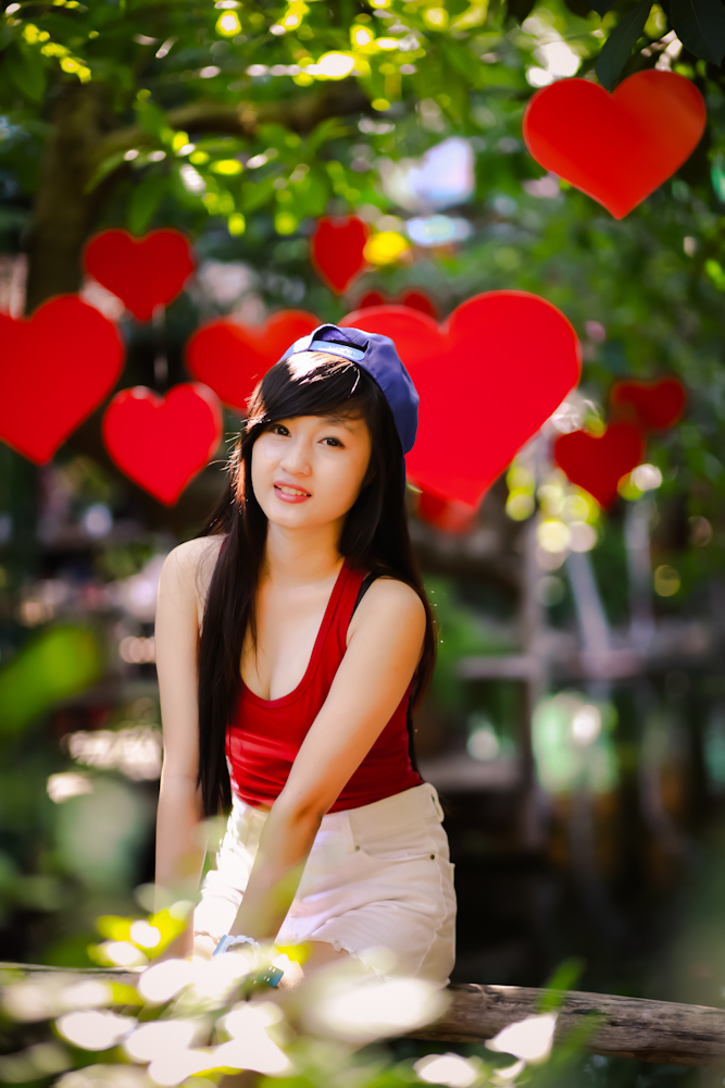 Hot girl ngộ nghĩnh xinh đẹp hơn hoa - Ảnh 8
