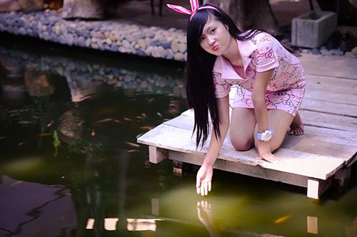 Hot girl ngộ nghĩnh xinh đẹp hơn hoa - Ảnh 5