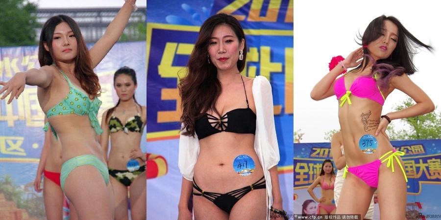"""""""Phát hoảng"""" nhan sắc thí sinh hoa hậu bikini - Ảnh 2"""