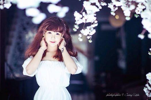 Hot girl Thanh Hóa chuyên chế nhạc với ước mơ làm cảnh sát - Ảnh 1