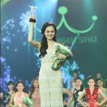 Nhan sắc hot girl Hye Trần giảm 10kg đăng quang Miss Ngôi Sao - Ảnh 1