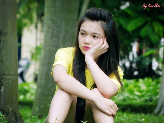 """Vẻ đẹp tựa thiên thần của nữ sinh Bắc Giang """"điên đảo"""" dân mạng - Ảnh 2"""