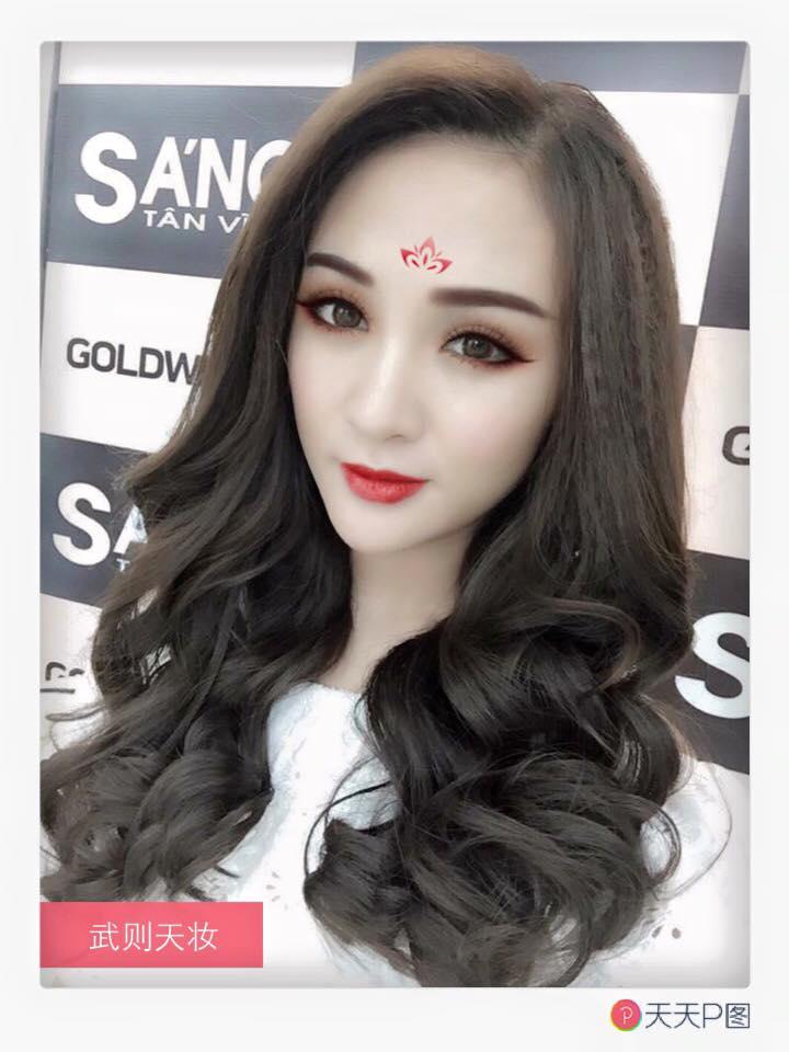 Các hot girl Việt đua nhau làm Võ Tắc Thiên - Ảnh 3