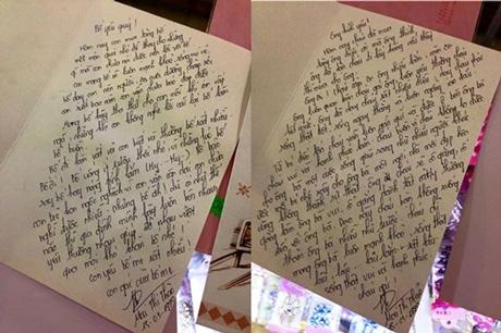 Xúc động cô gái tặng quà Valentine cho bố và ông ngoại - Ảnh 1