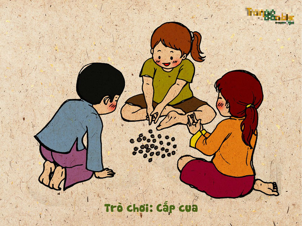 Bộ tranh gợi nhớ trò chơi tuổi thơ gây xúc động - Ảnh 2