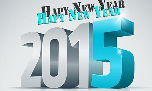 Hình nền chúc mừng năm mới 2015 đẹp và ý nghĩa nhất  - Ảnh 1