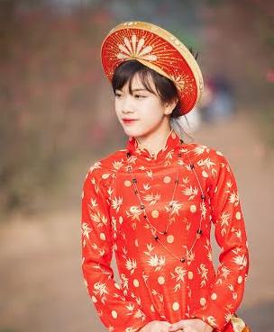 Xuân Ất Mùi 2015: Hot girl Kiến Trúc khoe sắc bên vườn đào  - Ảnh 11