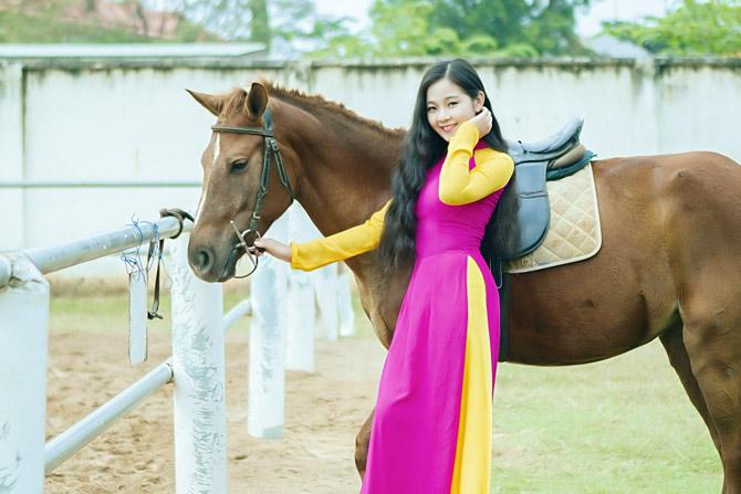 Hot girl Tam Triều Dâng làm gì trong dịp năm mới? - Ảnh 1