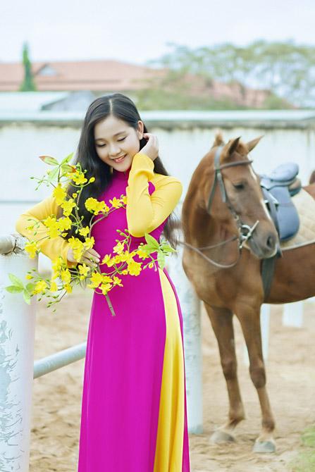 Hot girl Tam Triều Dâng làm gì trong dịp năm mới? - Ảnh 2