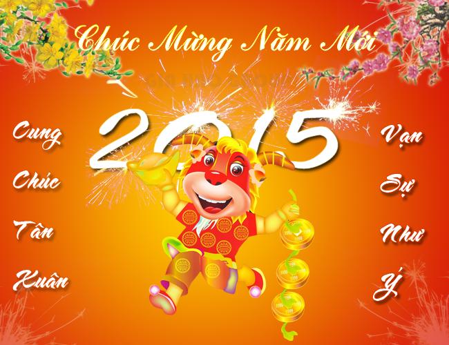 Hình ảnh chúc tết 2015 đẹp long lanh gửi tặng người thân - Ảnh 12