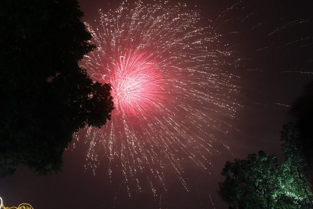 Dân mạng chia sẻ hình ảnh pháo hoa đẹp mắt đêm giao thừa - Ảnh 11