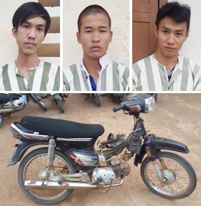 Triệt phá nhóm trộm cắp và tiêu thụ xe máy chuyên nghiệp - Ảnh 1