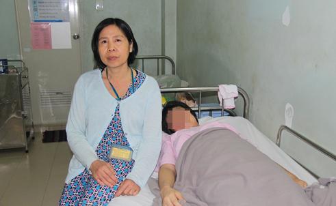 Bắt cóc trẻ sơ sinh bí ẩn tại Bệnh viện Hùng Vương - Ảnh 1