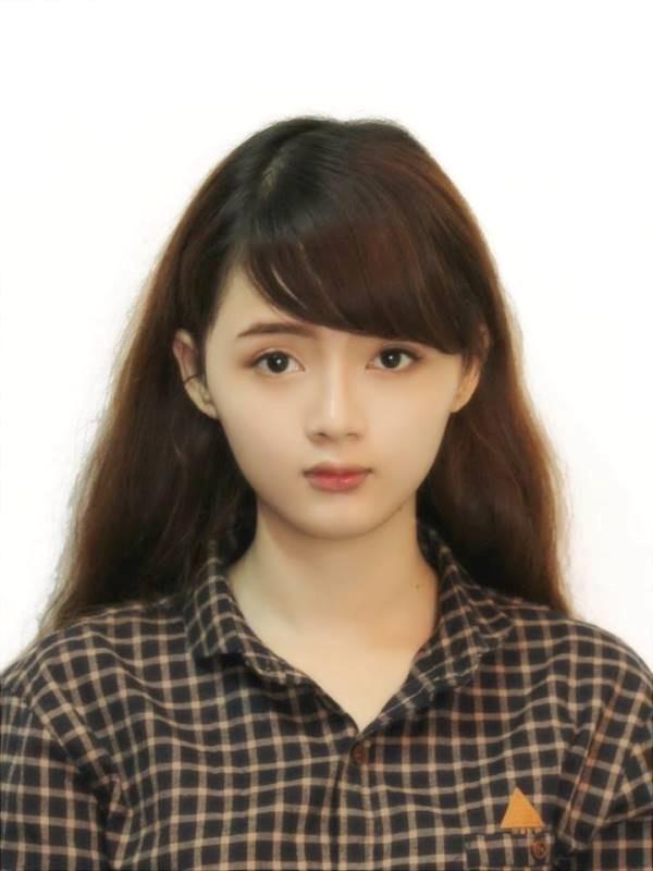 Chùm ảnh cực xinh của nữ sinh ảnh thẻ Lý Lan Hương  - Ảnh 1
