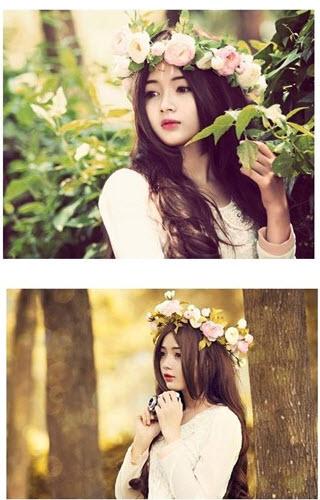 Chùm ảnh cực xinh của nữ sinh ảnh thẻ Lý Lan Hương  - Ảnh 5