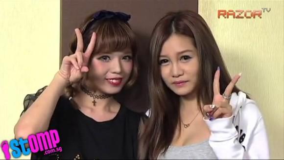 Ngỡ ngàng với mặt mộc không son phấn của 2 hot girl Singapore  - Ảnh 5