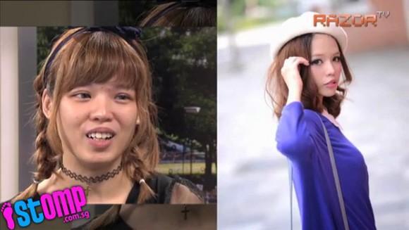 Ngỡ ngàng với mặt mộc không son phấn của 2 hot girl Singapore  - Ảnh 4