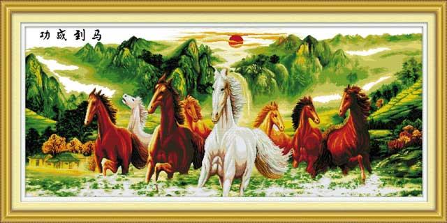 Ý nghĩa của bức tranh ngựa: Mã đáo thành công - Ảnh 1