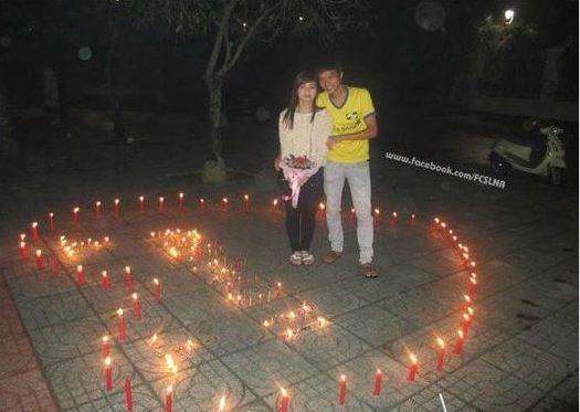 Giới trẻ cả nước với những khoảnh khắc Valentine ngọt ngào - Ảnh 1