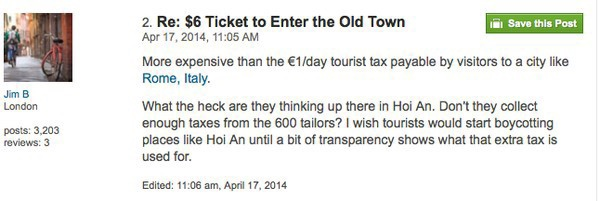 Thu phí đi dạo phố cổ, Hội An gây thất vọng cho khách du lịch - Ảnh 4