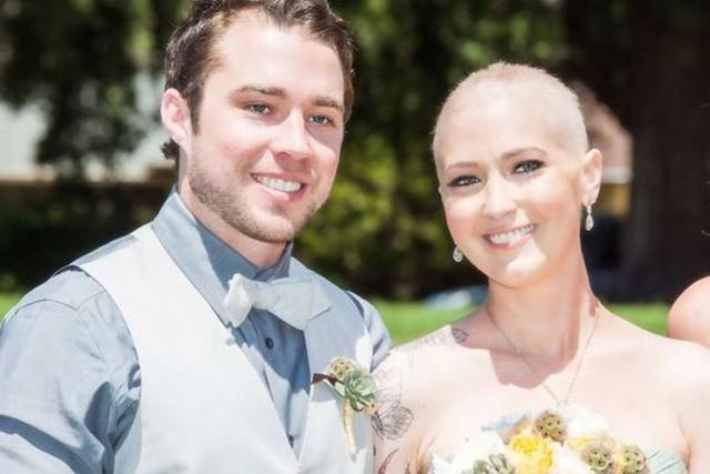 Nghẹn ngào đám cưới đẫm nước mắt của những cô dâu ung thư - Ảnh 2