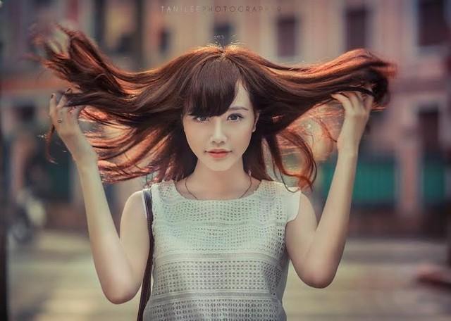 Ngất ngây với vẻ đẹp cuốn hút của nữ sinh Đại học Ngoại thương - Ảnh 6