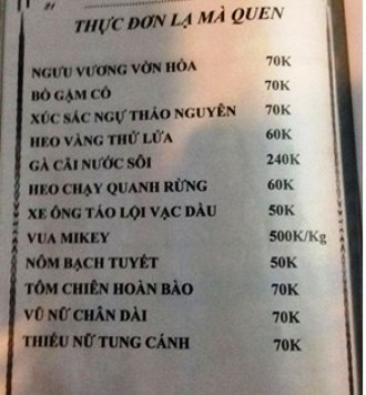 Bàng hoàng với những hóa đơn gây sốc ở Việt Nam - Ảnh 1