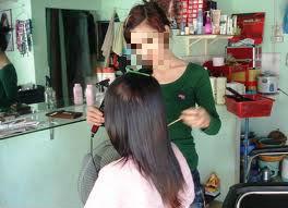Nở rộ trào lưu làm mẫu tóc, mẫu mặt trong giới trẻ - Ảnh 2