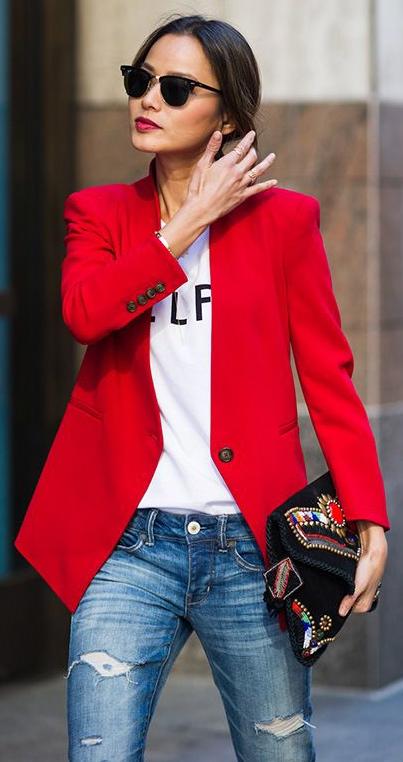 Những cách mix áo vest đẹp và quyến rũ cho nàng công sở - Ảnh 2