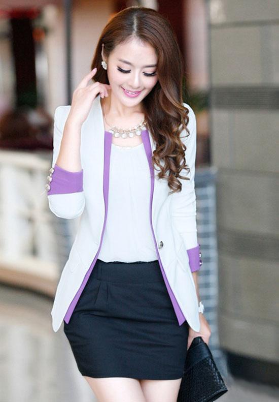Những cách mix áo vest đẹp và quyến rũ cho nàng công sở - Ảnh 4
