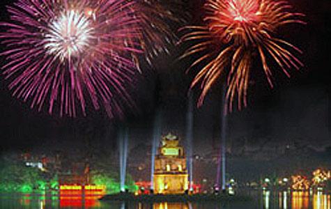 Hà Nội sẽ có 30 điểm bắn pháo hoa dịp Tết Nguyên Đán 2015 - Ảnh 1