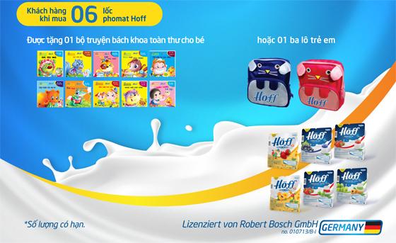 Phomat Hoff tưng bừng chương trình khuyến mại hấp dẫn cho trẻ em - Ảnh 1