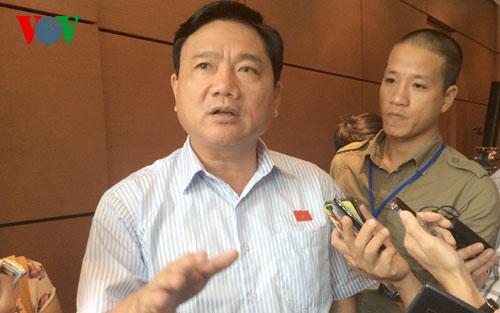 Bộ trưởng Đinh La Thăng nói về dự án xây dựng sân bay Long Thành - Ảnh 1