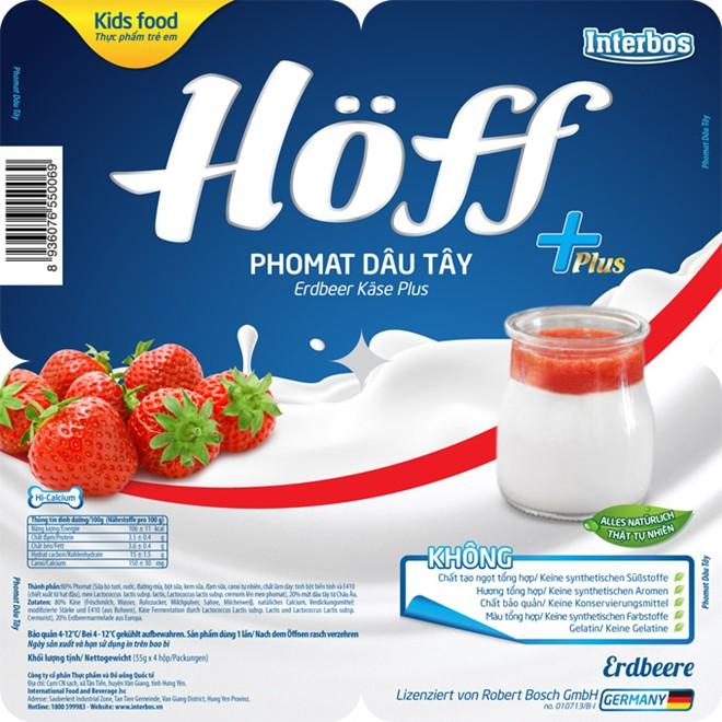 Trẻ khỏe mạnh hơn nhờ ăn phomat Hoff dâu Tây - Ảnh 2