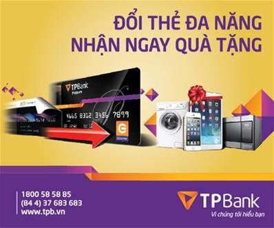 TPBank - Ngân hàng đầu tiên phát triển thẻ eCounter đa tiện ích - Ảnh 1