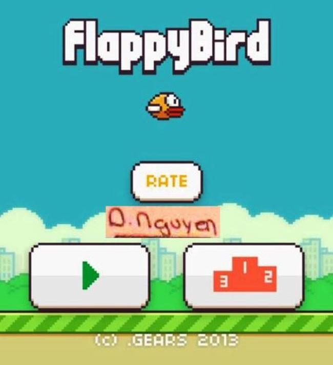 """Giật mình bức vẽ  """"Bye Bye Flappy Bird"""" giá 1 tỷ đồng - Ảnh 8"""