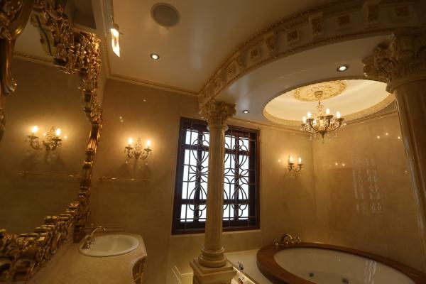 Phòng ngủ Tổng thống, nhà tắm Đế vương của đại gia Việt - Ảnh 1